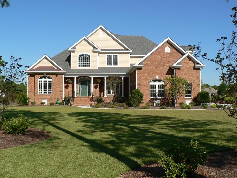 Custom homes exterior gallery will thornton custom built for Thornton builders